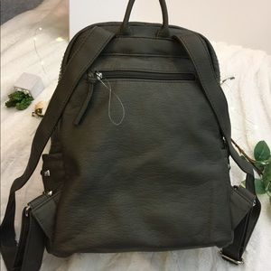 Collection 18 Bags - **HOST PICK** Collection 18 Studded Olive Backpack